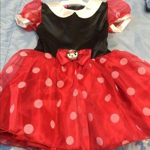 Disney Minnie Mouse toddler girl tutu dress